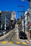 San Francisco gata Fotografering för Bildbyråer