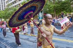 San Francisco gay pride Stock Photography