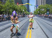 San Francisco gay pride Stock Photography