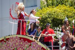 San Francisco Gay Pride Parade 2012 Royalty Free Stock Photography