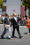 San Francisco Gay Pride Parade 2012. SAN FRANCISCO - JUNE 24: San Francisco Gay Pride Parade 2012. It is one of the largest gathering of LGBT people and allies Stock Photos