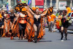 San Francisco Gay Pride Parade 2012 Stock Photos