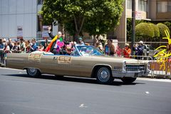 San Francisco Gay Pride Parade 2012. SAN FRANCISCO - JUNE 24: San Francisco Gay Pride Parade 2012. It is one of the largest gathering of LGBT people and allies Stock Images