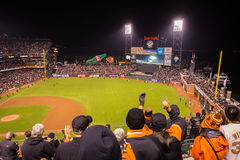 San Francisco Giants Foto de Stock Royalty Free