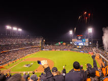 San Francisco Giants Foto de Stock