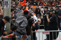 2012 San Francisco Giants Baseball Royalty Free Stock Photos