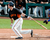 San Francisco Giants Catcher #28 Buster Posey Royalty Free Stock Photo