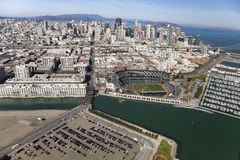 SAN FRANCISCO, Giants Stadium di U.S.A.-San Francisco Fotografie Stock