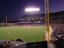 San Francisco Giants sul campo prima di un gioco Fotografie Stock