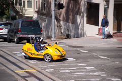 San Francisco Go-Car Stock Photo