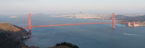 San Francisco & Golden Gate Royalty Free Stock Image