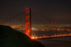 San Francisco through Golden Gate Royalty Free Stock Photo