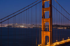 San Francisco through the Golden Gate Royalty Free Stock Image