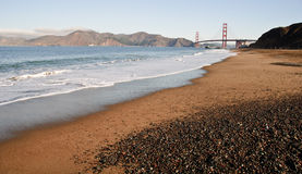 San francisco golden gate by baker beach Stock Images