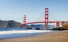 San Francisco Golden Gate Bridge Royalty Free Stock Photo