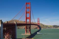 San Francisco Golden Gate bridge. View of famous San Francisco Golden Gate bridge Royalty Free Stock Image