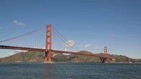 San Francisco golden gate bridge video estoque