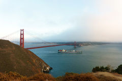 San Francisco golden gate bridge Stockbilder