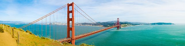 San Francisco golden gate bridge Images libres de droits