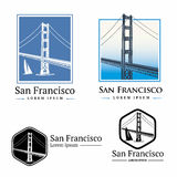 San Francisco 1. Golden Gate Bridge San Francisco Royalty Free Stock Photography