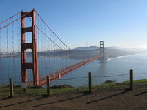 San Francisco golden gate bridge Image stock