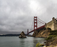 San Francisco golden gate bridge Imagens de Stock Royalty Free