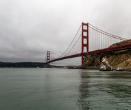 San Francisco golden gate bridge Fotografia de Stock Royalty Free