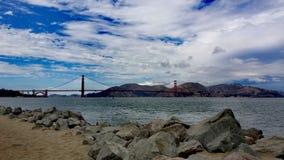 San Francisco golden gate bridge foto de stock royalty free