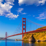 San Francisco Golden Gate Bridge California stockfotos