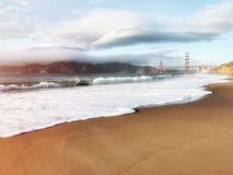 San Francisco Golden Gate Bridge em Califórnia EUA fotografia de stock