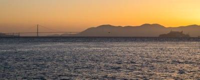 San Francisco Golden Gate Bridge em Califórnia EUA Imagens de Stock Royalty Free