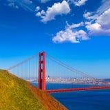 San Francisco Golden Gate Bridge Marin headlands California Royalty Free Stock Photo