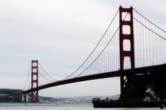 San Francisco Golden Gate Bridge From Marin Side Imagen de archivo
