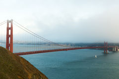 San Francisco Golden Gate Bridge Royalty Free Stock Photography