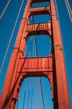 San Francisco Golden Gate Bridge Pillar Royalty Free Stock Image
