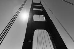 San Francisco Golden Gate Bridge Pillar Royalty Free Stock Photo