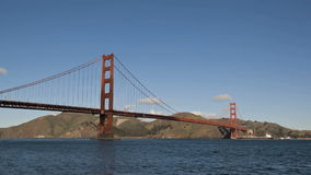 San Francisco Golden Gate Bridge stock video