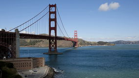 San Francisco Golden Gate Bridge. Timelapse stock video footage
