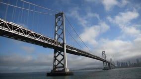 San Francisco Golden Gate Bridge, vista do navio de navigação filme
