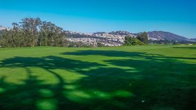 San Francisco Golf Course Fotos de archivo libres de regalías