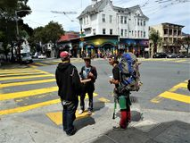 San Francisco, Haight Asbury stock photo
