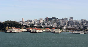 San Francisco Harbor Stock Images
