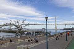San Francisco harbor Royalty Free Stock Photos