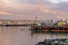 San Francisco Harbor - Fisherman& x27; s-hamnplats royaltyfri foto
