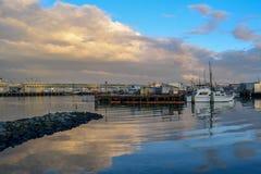 San Francisco Harbor - Fisherman& x27; s-hamnplats fotografering för bildbyråer