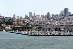 San Francisco Harbor Royalty Free Stock Images