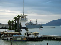 San Francisco harbor Stock Image