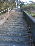 15Th Avenue steps, one of San Francisco`s smallest, UNofficial parks, 3. San Francisco has many beautiful, and well known, parks, as well as hills. There are Stock Photography