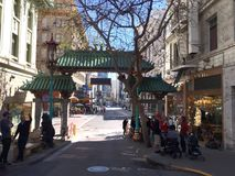Dragon Chinatown Gate, 3. royalty free stock photography