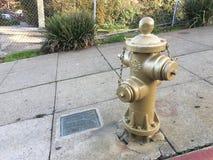 San Francisco historique, or, bouche d'incendie 1 photos libres de droits